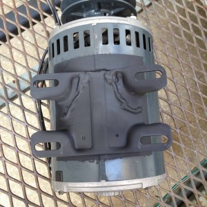 Welded Motor Bracket